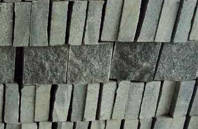 G654 granite natural split cobble stone